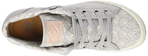 PLDM by Palladium - Gaetane Print, Pantofole a Stivaletto Donna Gris (Gris Dove/Totem)