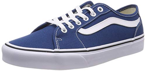 Vans Herren Filmore Decon Sneaker, Blau ((Canvas) Sailor Blue/White Vfh) 40 EU - Blaue Canvas-schuhe