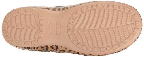 crocs Damen Freesail Graphic Clog Women Mehrfarbig (Leopard)