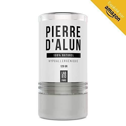 LAB810: Pierre d'Alun en stick 120g - Déodorant efficace...