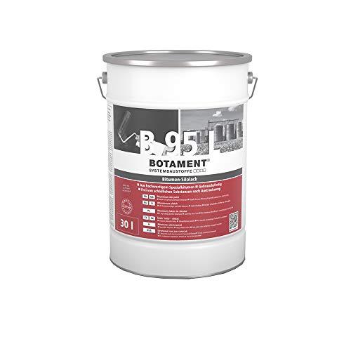 Botament Bitumen Silolack B 95 L 30l