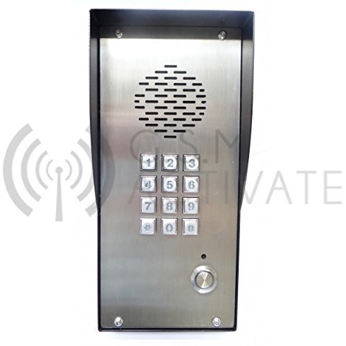 GSM Intercom with Keypad - UK Made Stainless Steel Enclosure