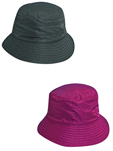 Scala Classico Women's Tapered Water Repellent Rain Hat (Pack of 2)