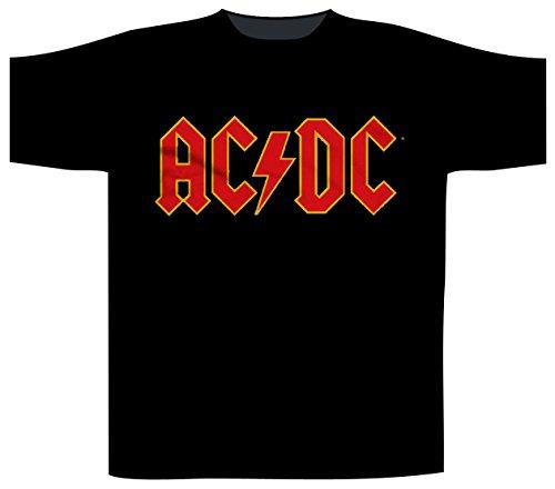 AC/DC LOGO T-Shirt Schwarz