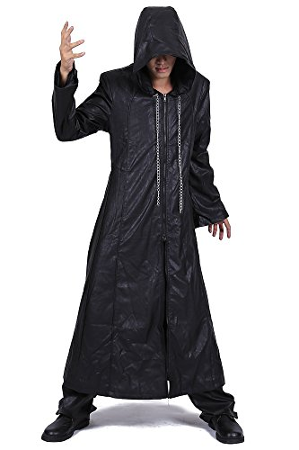 De-Cos Kingdom Hearts II Cosplay Organization XIII Leather Outfit 3rd (Hearts Kingdom 3 Kostüme)