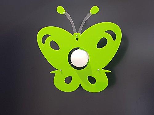 Plafoniera Cameretta : Lampadario moderno in plexiglass farfalla plafoniera vari colori