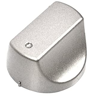 SPARES2GO Hot-Ari ix Control Knob Switch for Hotpoint SHS33XS SHS53X SHS53XS UHS53X UHS53XS Oven Cooker Hob (Silver)