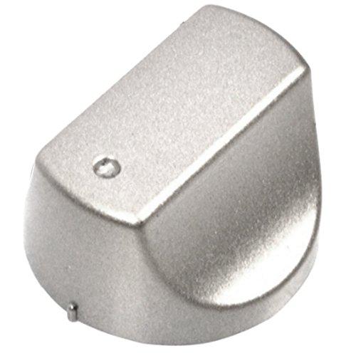 Bouton de réglage Spares2go Hot-Ari ix pour four et cuisinières Hotpoint DH99CX, DHS53CX, DHS53CXS, DHS53X, DHS53XS - Argenté