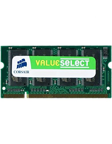 Corsair Arbeitsspeicher SO PC333 1024MB DDR Ram CL2.5 ValueSelect - 1024mb Ddr Pc