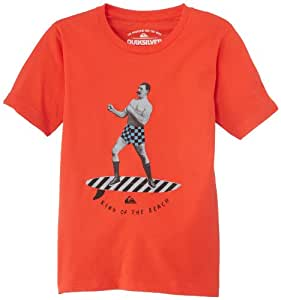 Quiksilver Youth R40 Screenline T-Shirt manches courtes Garçon Radio Active FR : 12 ans (Taille Fabricant : M/12)