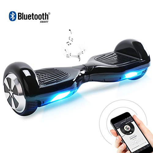 "Windgoo Hoverboard, 6.5\"" Self Balance Scooter mit Bluetooth Lautsprecher, LED Lights Elektro Scooter E-Skateboard"