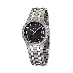 Reloj de caballero FESTINA F16460/3 de cuarzo, correa de titanio de FESTINA