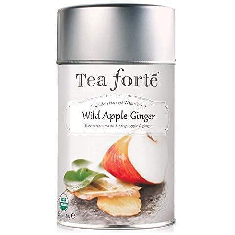 Tea Forte Loose Leaf Tea Canister - Wild Apple Ginger - White Tea - 90 grams