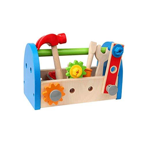 Werkzeugkasten Für Kinder Pädagogisches Spielzeug Set Demontage (Farbe : Bunte, größe : L)
