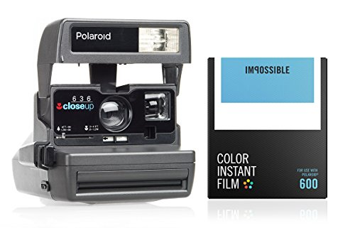 Impossible - Cámara Polaroid 600 90's - pack regalo [modelo surtido]