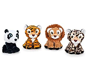 FEBER Famosa-760016604 Peluche Wild Collection 21cm, (760016604)