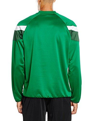 PUMA Spirit II - Felpa sportiva, da uomo Verde-bianco