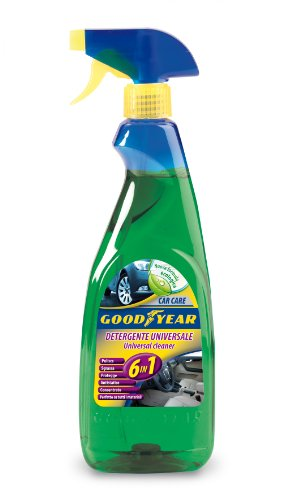 Goodyear 77803 Detergente Universale, 6 In1, per Interni Auto, 750 ml
