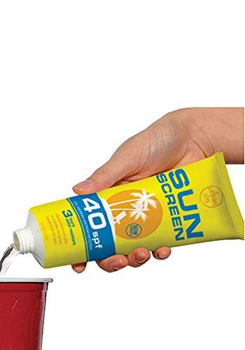 Sonnencreme Flasche (Mr.Giggelz Cuban Sun Screen - Fake Sonnencreme Tube)