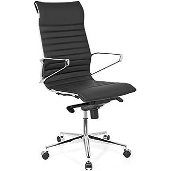 Designer chefsessel leder  hjh OFFICE 600150 Bürostuhl Chefsessel CARMINO 20 Leder schwarz ...