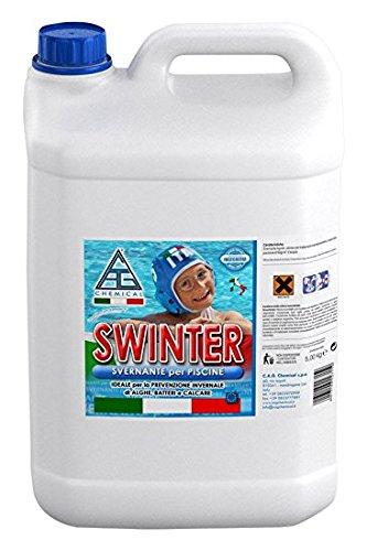 Svernante multifunzione trattamento acqua invernale 5lt antigelo piscina piscine