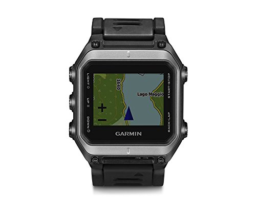 Garmin epix - sport watches (Black, Water resistant, Bluetooth, 12h/24h, Cycling, Running, Swimming, 205 x 148 pixels)