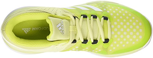 adidas Court Stabil W, Chaussures de Running Femme Multicolore (Ice Yellow F16/ftwr White/utility Black F16)
