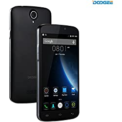DOOGEE X6 Pro, Unlocked 4G Smartphone - 5.5'' IPS Screen - 2GB RAM+16GB ROM - Dual SIM Mobile with Dual Camera - Long Standby SIM Free - Android Cell Phone Phablet - Black