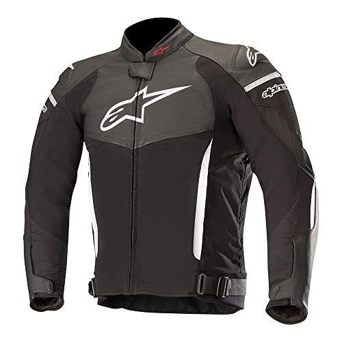 Alpinestars Motorradjacken Sp X Jacket Black White, Schwarz/Weiss, 54
