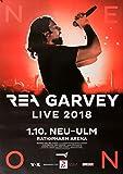 TheConcertPoster Rea Garvey - Live, Neu ULM 2018 |