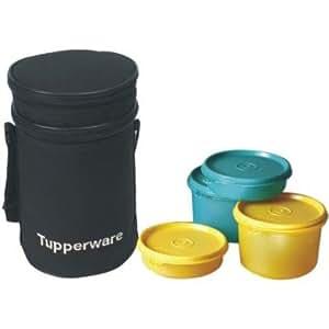 Lunch tupperware set de bureau 5 pièces (186B)