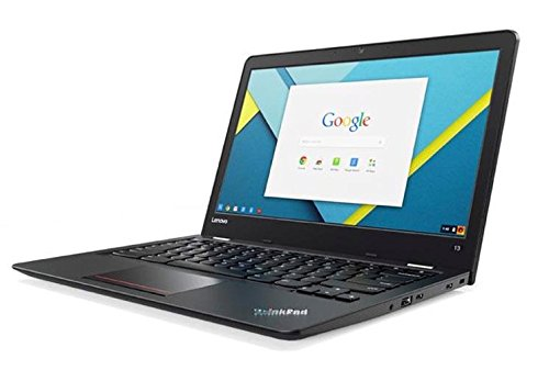 Lenovo ThinkPad 13 (13.3 inch) Chromebook Notebook Core i3 (6100U) 2.3GHz 4GB 16GB eMMC Webcam Google Chrome OS (Integrated HD Graphics 520)