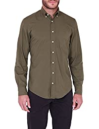 GANT S. LAKESIDE POPLIN LS BD - Chemise Casual - coupe droite - Manches Longues - Homme