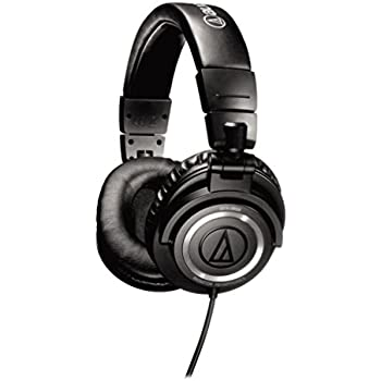 Audio-Technica ATH-M50 Studio Monitor Professional Headphones - Black (discontinued by manufacturer)