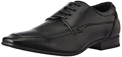 Bata Men's Qdaved Black Formal Shoes - 10 UK/India (44 EU) (8216643)