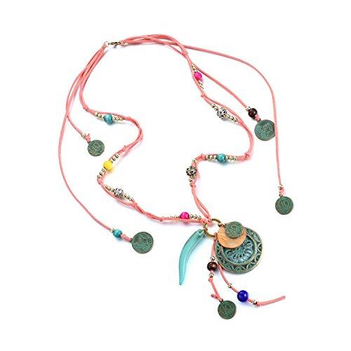 Lobwerk Collier Gliederkette Kette Halskette Charmes Vintagekette Trachtenschmuck NEU
