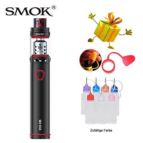 Original Smok Stick Prince Kit,E-Zigarette Starter Set mit 2ml TPD-Tank Verdampfer, Verdampfer Kit Eingebaut 3000mAh-Batterien Ohne Nikotin, Ohne Flüssigkeit (Schwarz)