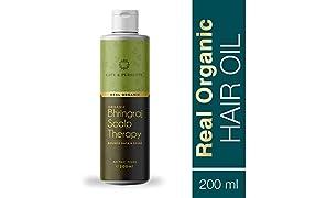 Life & Pursuits Organic Hair Oil for Hair Growth, Anti Hair Fall & Dandruff Control, Non Sticky (200ml)