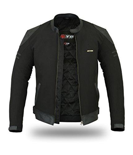 Motorradjacke aus echtem Leder, Softshelljacke/Windstopper, wasserdicht