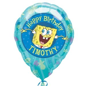 SpongeBob Personalized 18in Balloon