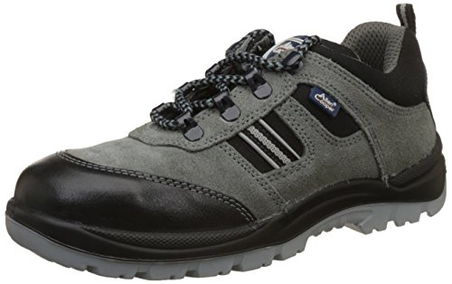Allen Cooper AC-1436 High Ankle Safety Shoe, Double Density DIP-PU Sole