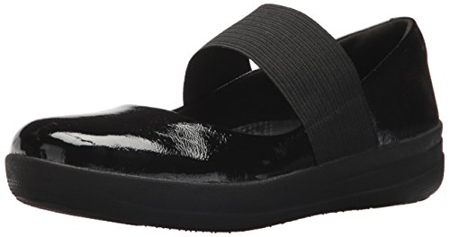 Fitflop Women's F-Sporty Elastic Mary Jane Flat