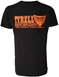 Tyrell Genetic Replicants More Human Than Human Blade Runner Inspired Mens Black T Shirt