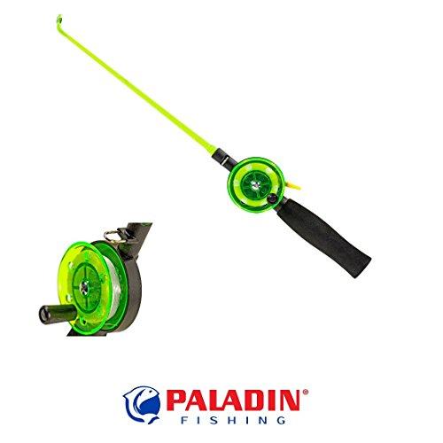 Paladin Eisangel-Set für Kinder - schwarz/grün