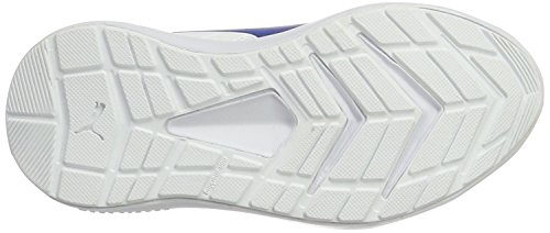 Puma Escaper Sl V Ps, Sneakers Basses Mixte Enfant Blanc (White-lapis Blue)