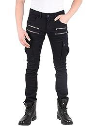 Tazzio Top Herren Hose Skinny Jeans Stretch Biker Style Clubwear 3c85850d97