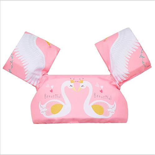 FDGT Pink Swan Kinder Schwimmen Arm Kreis Kleinkind-Baby-Schwimmanlage Schwimmen Kreislase Mu Sleeves Schwimmweste