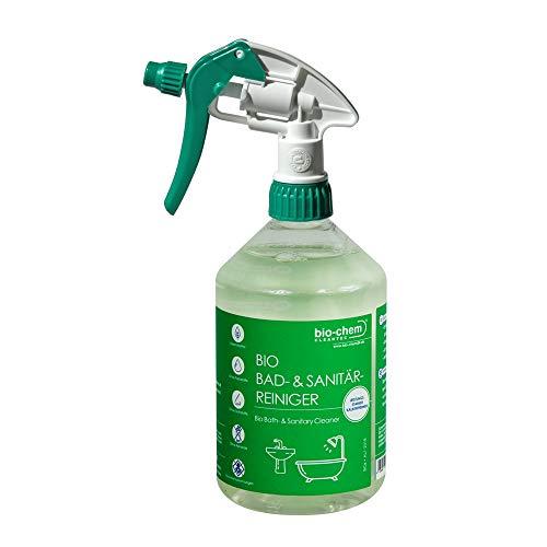 bio-chem Bad-und Sanitärreiniger 500 ml für Bad, Dusche und WC Kalkentferner