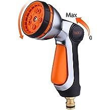 Tacklife GSG1A - Pistola de manguera, 10 patrones de pistola de pulverización, conexión de