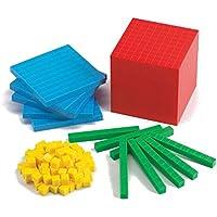 edx education 53833 Conjunto de bloques de base diez, 121 piezas